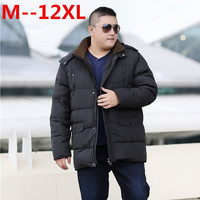 12XL 10XL 8XL 6XL 5XL White Duck Thick Down Jacket men coat Snow parkas male Warm Brand Clothing winter Down Jacket Outerwear