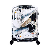 New transparent suitcase with wheel,20inch Boarding box,24inch Fashion trunk,PC Carry on trolley case,Rolling Luggage Travel bag