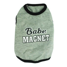 Magnet Cotton Jersey Vest Pet Clothing