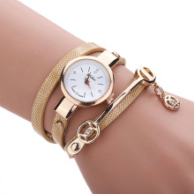 Feitong Fashion Dress Watches Women Casual PU Leather Bracelet Watch Wristwatch relogio feminino women watches Clock Hot Sale