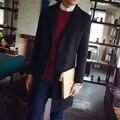 Outono inverno homens/Confortável/Manter quente/Respirável/Plus algodão/Espessamento/Grande tamanho/plus grosso//casaco De Lã 3XL/tb211119
