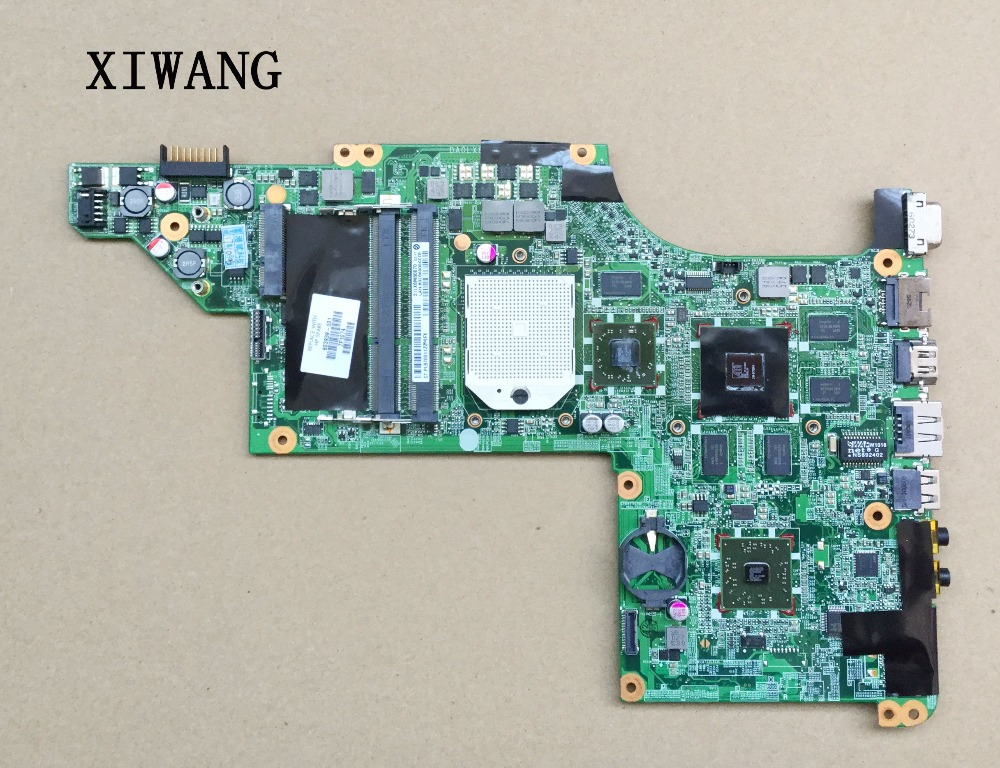 Free Shipping Laptop Motherboard For HP DV6 DV6-3000 Series 603939-001 Mobility Radeon HD 5650 DDR3 Mainboard Daolx8mb6d1