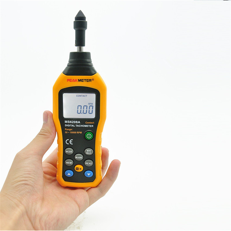 free shipping contact speed meter perimeter electronic tachometer digital speed measure instrument data storage hold backlight brand new professional digital lux meter digital light meter lx1010b 100000 lux original retail package free shipping