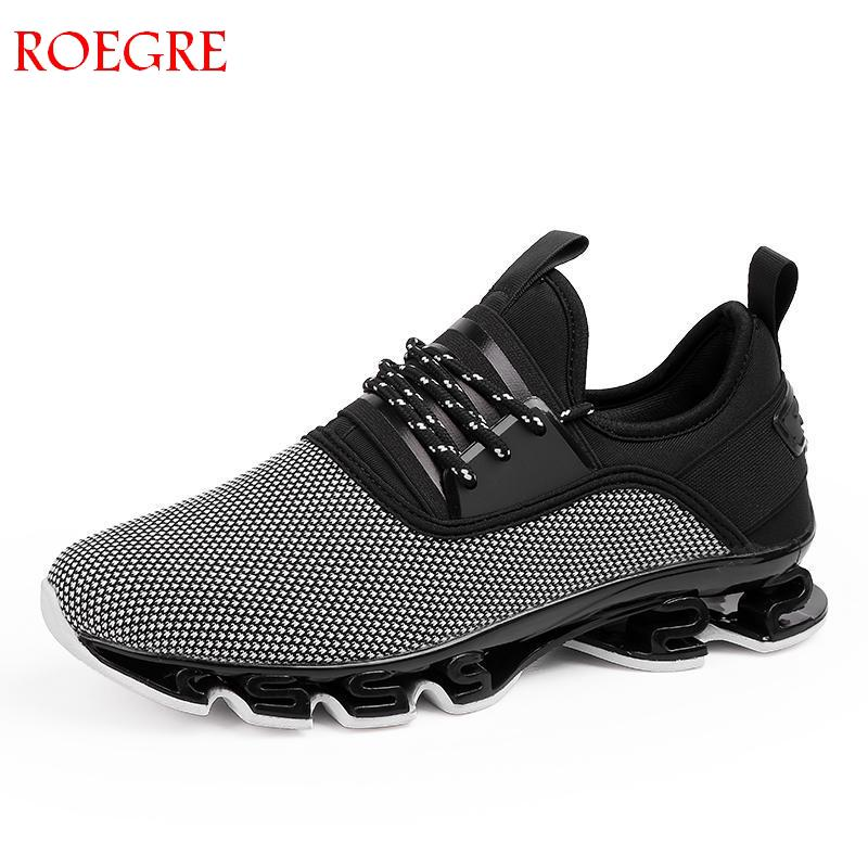 Large size 39 47 men's shoes new fashion men's 2018 tide shoes breathable comfort cushioning walking lace casual shoes men