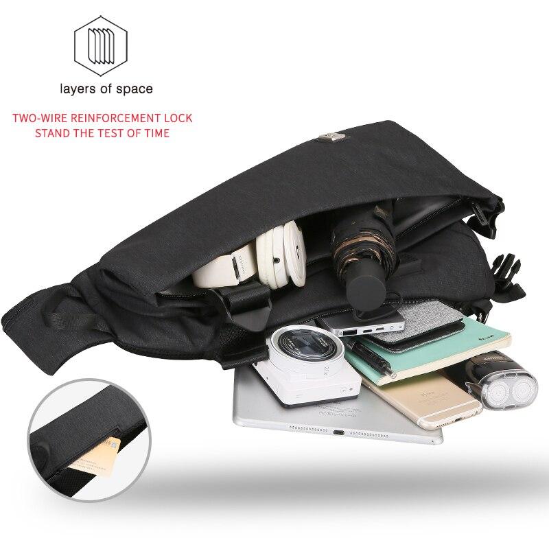 Mark Ryden New Men Crossbody Bag Business Shoulder bag High Capacity Chest Bag
