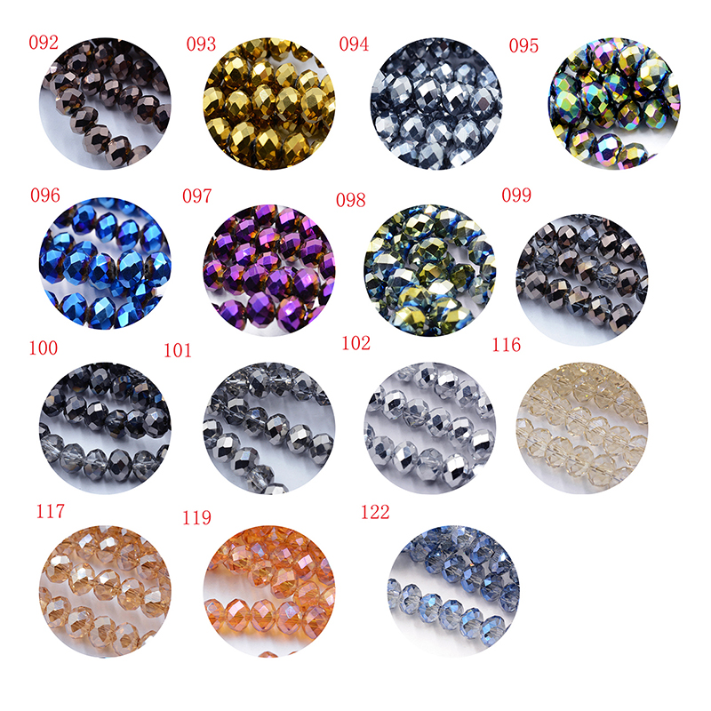 Jewelry & Accessories Shining Blue 4mm Czech Faceted Crystal Football Beads Color Glass Round Crafts Beads For Jewelry Making 145pcs Lot Wholesale Beads & Jewelry Making