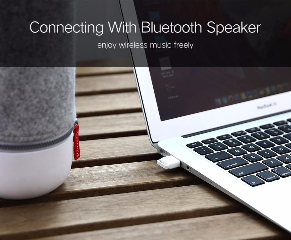 ugreen беспроводной usb bluetooth адаптер v4.0 bluetooth dongle музыка приемник звука адаптер bluetooth передатчик для компьютера pc