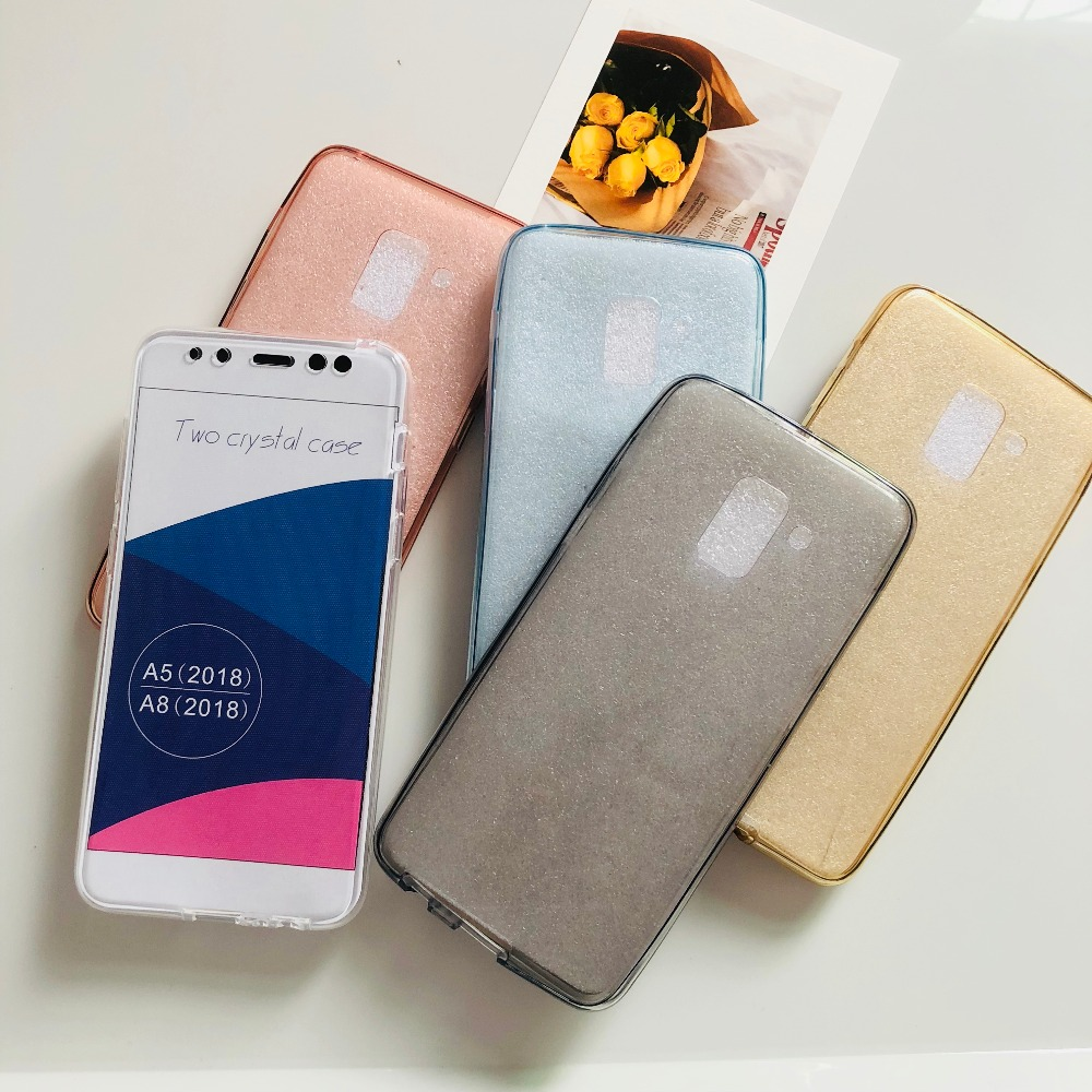 360 Full Case For Samsung Galaxy S9 S8 J2 Pro A6 A8 Plus J4 J6 2018 S6 S7 Edge A3 A5 A7 2016 J3 J5 Pro J7 2017 Soft Clear Cover