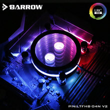 Barrow bloque de agua de la CPU de INTEL LGA 1150, 1151, 1155, 1156 acrílico + cobre radiador RGB 5V GND a 3PIN Hearder en placa base(China)