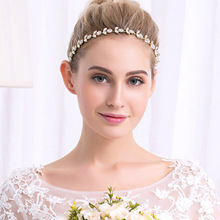 Wedding Tiara Headband Bridal Hair Band Rhinestone Headpiece for Women Hair Jewelry Headpiece Hair Jewelry недорого