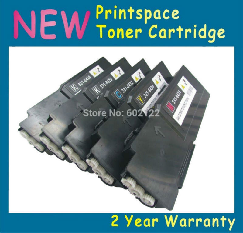5x NON-OEM High Yield Toner Cartridges Compatible For Fuji Xerox Phaser 6600 6600n 6600dn Workcentre 6605 6605n KCMY 2x non oem toner cartridges compatible for oki b401 b401dn mb441 mb451 44992402 44992401 2500pages free shipping