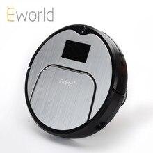 Eworld M883 Robot Aspiradora ABS Y Aluminio Alloyfor Húmedas de Limpieza En Seco
