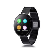 Zaoyiexport dm360 bluetooth smart watch reloj deportivo caja de acero smartwatch ips de control del ritmo cardíaco para ios android pk dz09