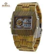 Madera Promoción Bewel Compra Reloj De Hombres Los RjcqL354A