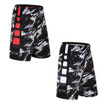 Баскетбольные шорты, дышащая Элитная спортивная одежда, спортивные уличные шорты для бега, фитнес-брюки, свободные шорты с карманом