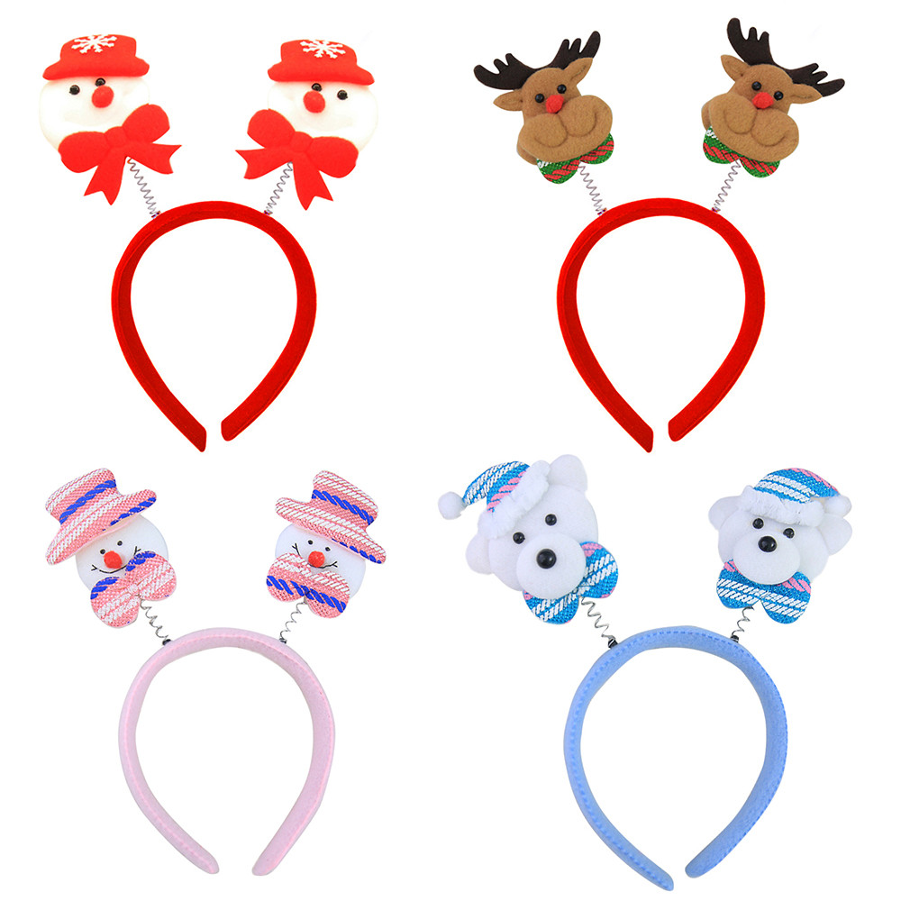 Christmas Hair Decoration Christmas Headband Christmas Children Party Party Headwear Styling Make Up Beauty Accessories