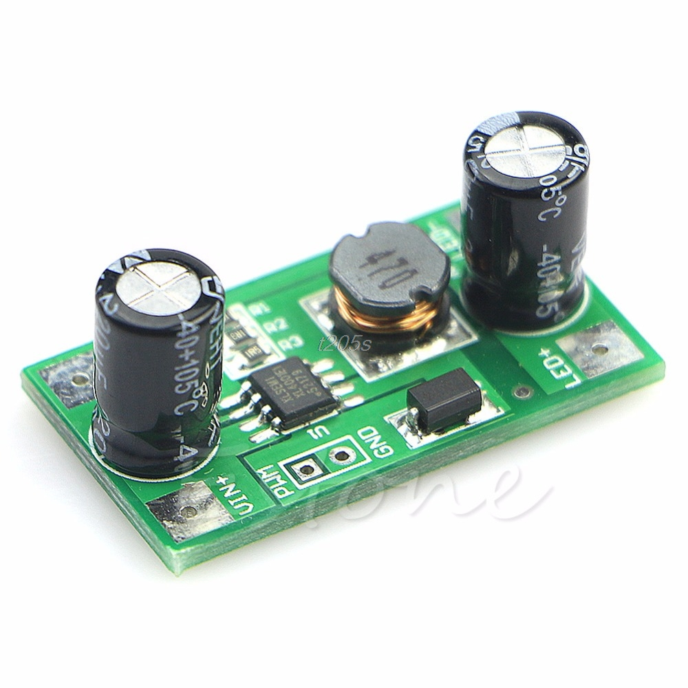 5-35V LED Driver 350mA PWM Light Dimmer DC-DC Step Down Constant Current Module T25 Drop ship
