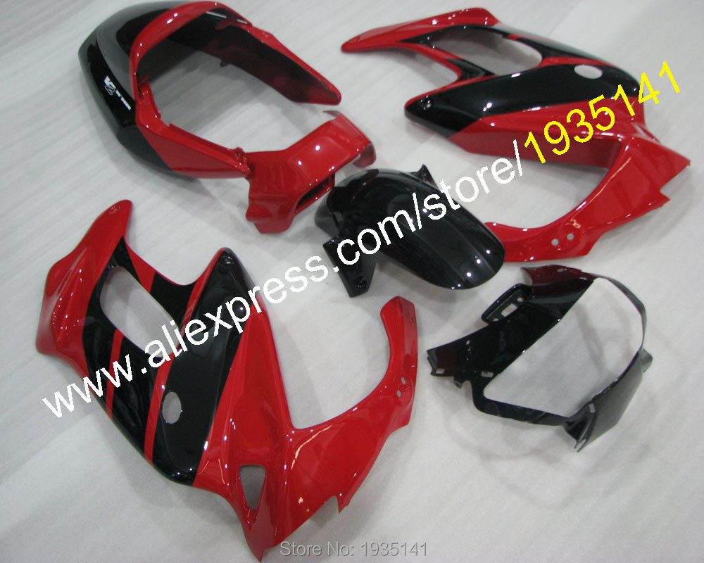 Hot Sales,For Honda VTR1000F 1997 1998 1999-2005 VTR 1000F 97 98 99 00 01 02 03 04 05 black red bodywork Fairing of motorcycle unpainted white injection molding bodywork fairing for honda vfr 1200 2012 [ck1051]
