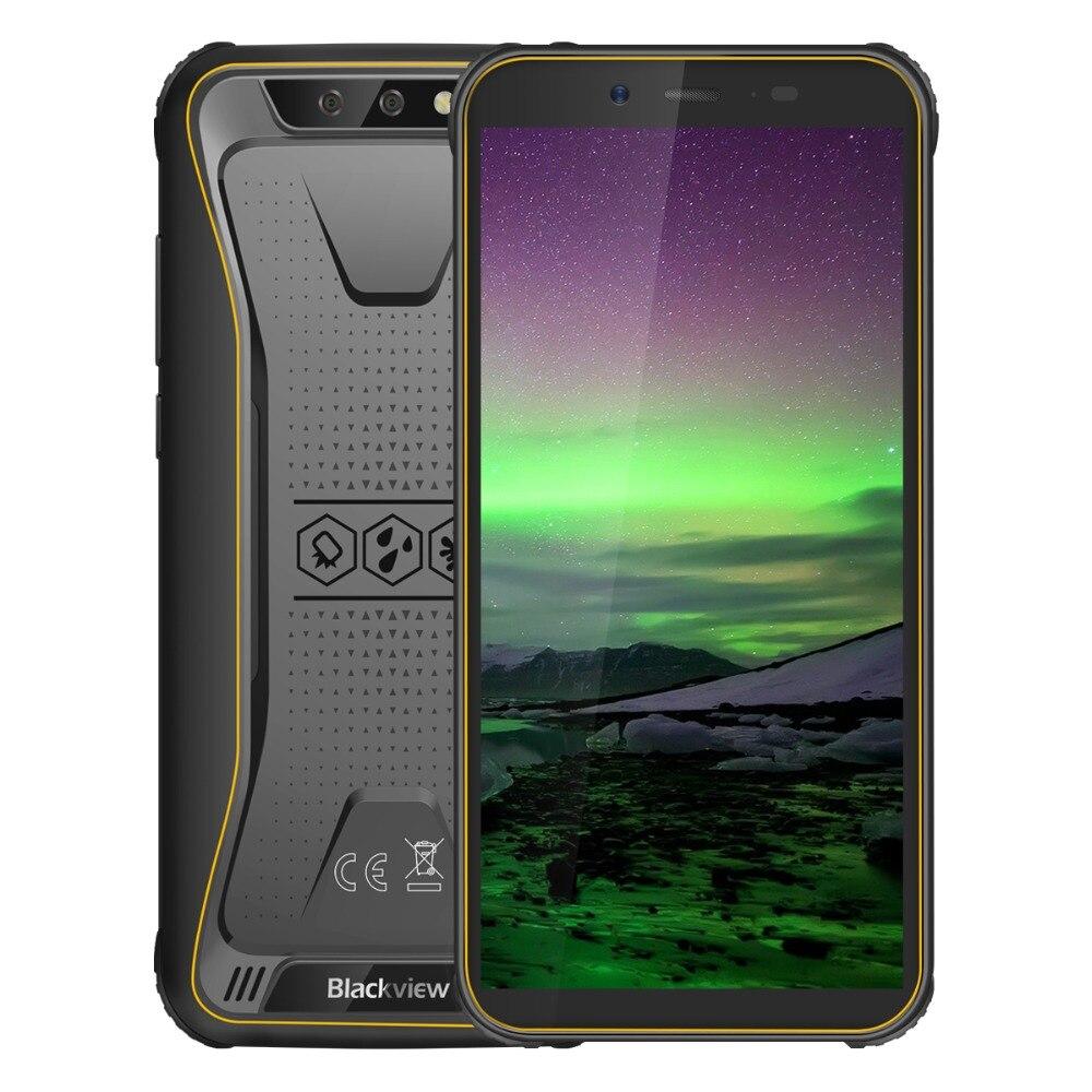 Blackview BV5500 IP68 téléphone portable étanche double SIM Smartphone robuste MTK6580P 2GB + 16GB 5.5