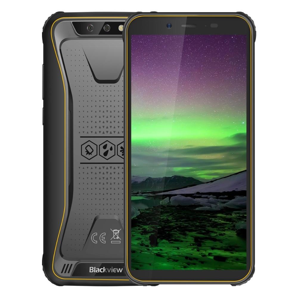 Blackview BV5500 IP68 téléphone portable étanche double SIM Smartphone robuste MTK6580P 2 GB + 16 GB 5.5