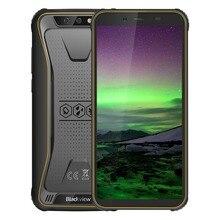 """Blackview BV5500 IP68 wodoodporny telefon komórkowy Dual SIM wytrzymały smartfon MTK6580P 2GB + 16GB 5.5 """"18:9 ekran 4400mAh Android 8.1"""