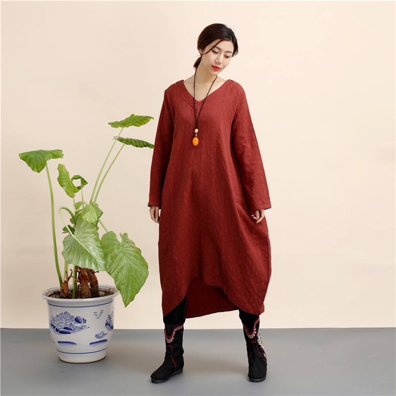 mf-60 women dress long sleeve (1)