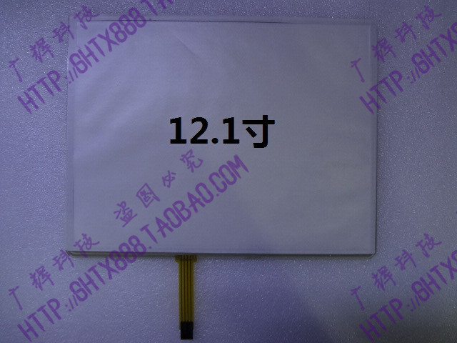 ФОТО 12.1 inch 4 wire resistive touch screen industrial computer industry ordering one computer touch screen LCD