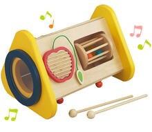 Новая деревянная музыкальная игрушка 3 1 многофункциональная