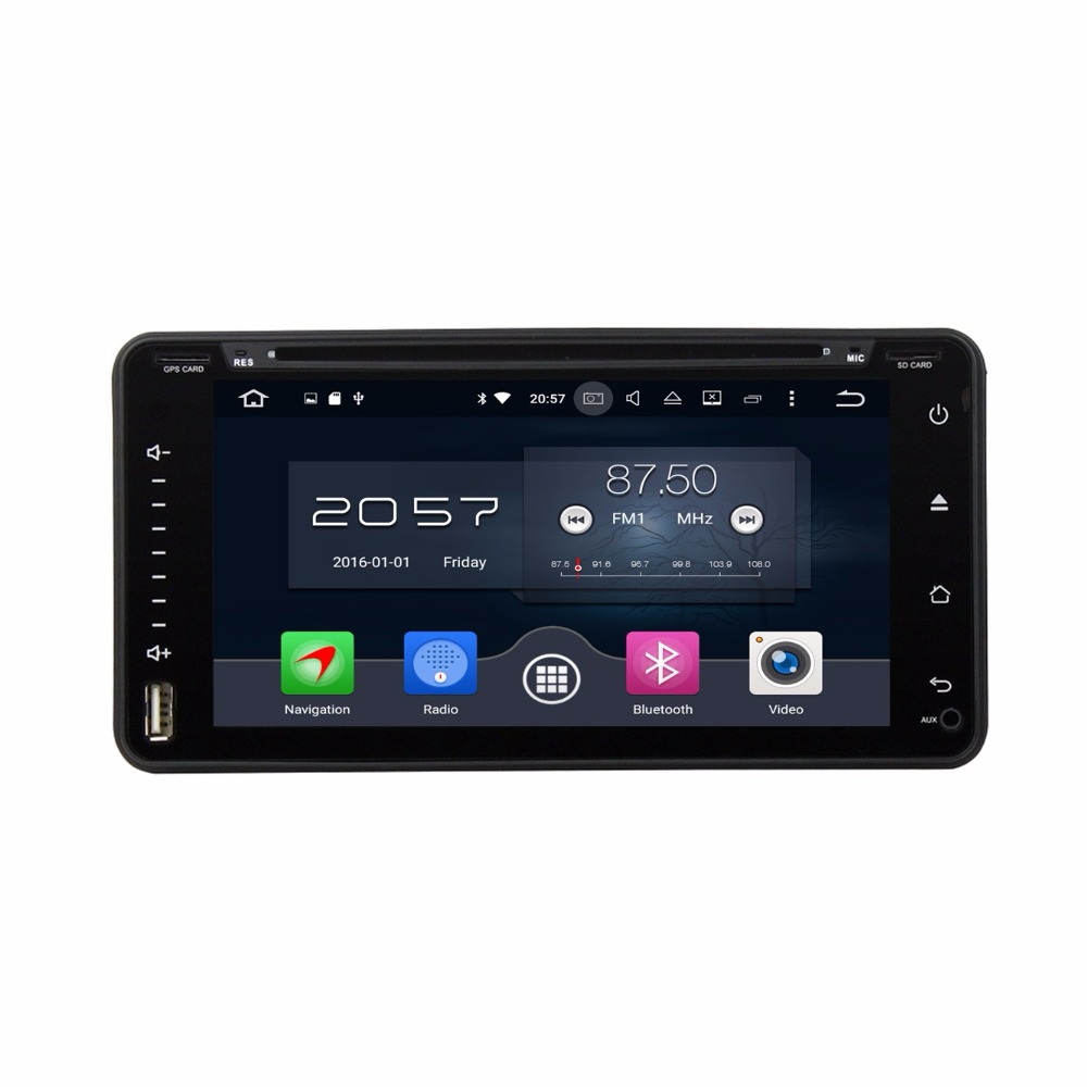 4GB RAM Octa Core 2 din 6.95 Android 6.0 Car DVD Player for toyota Corolla RAV4 Hilux Fortuner Land Cruiser 32GB ROM 4G WIFI