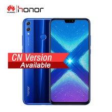 HONOR – Smartphone 8X, Version chinoise, Android 8.1, 4 go de RAM, 64 go de ROM, 6.5 pouces, 2.2GHz, Octa Core, 20mp, 4G LTE, 3750mAh, téléphone portable
