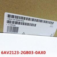 100% orijinal yeni 2 yıl garanti 6AV2123-2GB03-0AX0