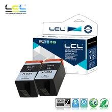 Lcl 934XL 934 xl (2 шт черный) картридж совместимый для hp officejet pro 6830 6230 6815 6835 6812 6820 6220 Принтеры