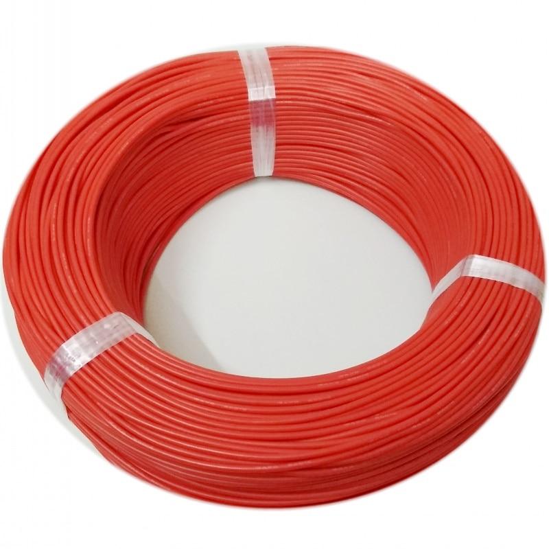 300 meters/roll (984ft) 28AWG hoge temperatuur weerstand Flexibele silicone draad vertind koperdraad RC power Elektronische kabel - 5
