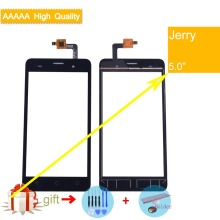 Купить For Wiko Jerry Touch Screen Panel Sensor Digitizer Front Outer Glass Touchscreen For Wiko Jerry Touch Panel Replacement Black 5