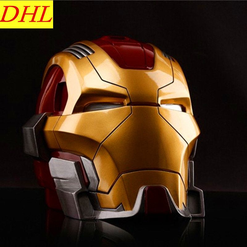 Avengers:Infinity War Iron Man Piggy Bank Statue Tony Stark Superhero Colophony Crafts Action Figure Collectible Model Toy L2307 avengers 3 movie iron man tony stark 1 6 mk7 superhero pvc action figure collectible model toy l2228