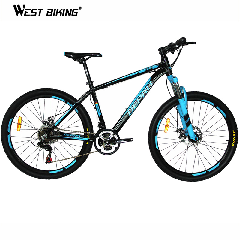 Mountain Bike Auminum Allloy 21 Speed Dual Disc Brakes 26 Inch Variable Speed Drive Bicycle Men