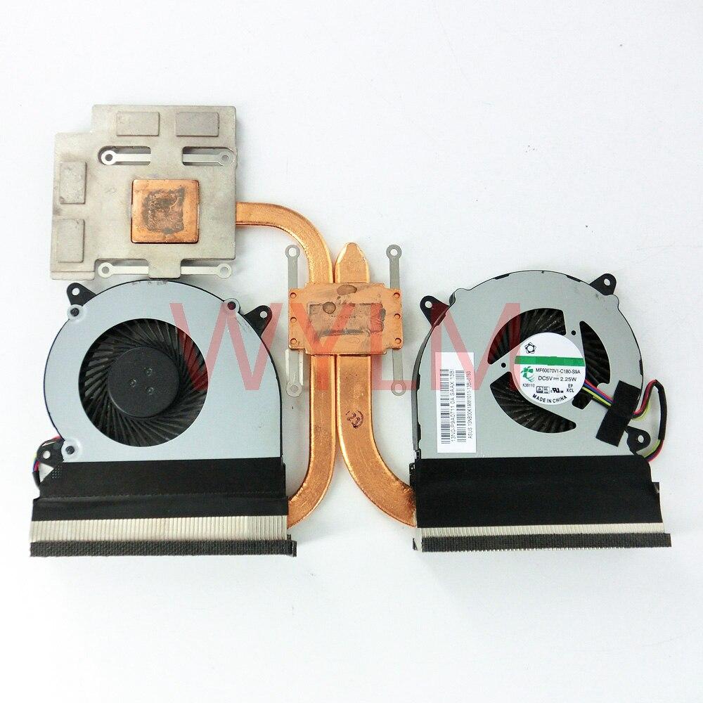 CPU Cooling Fan For ASUS N550 N550J N550JA N550JK N550JV N750 N750J G550J G550JK