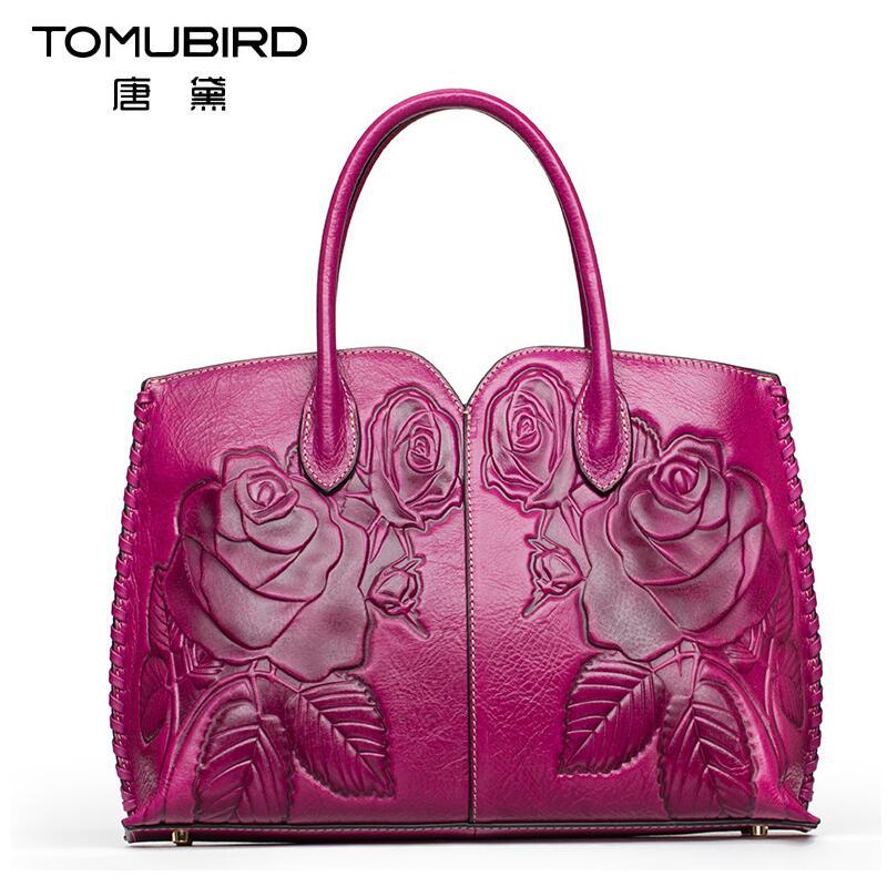 2017 New luxury handbags women bags designer quality genuine leather hand-embossed women leather handbags shoulder bag