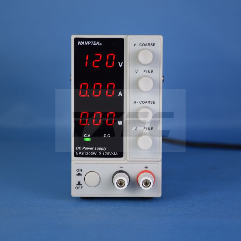 NPS306W 605W 3010W 1203W Mini Switching Regulated Adjustable DC Power Supply with power display 30V 6A