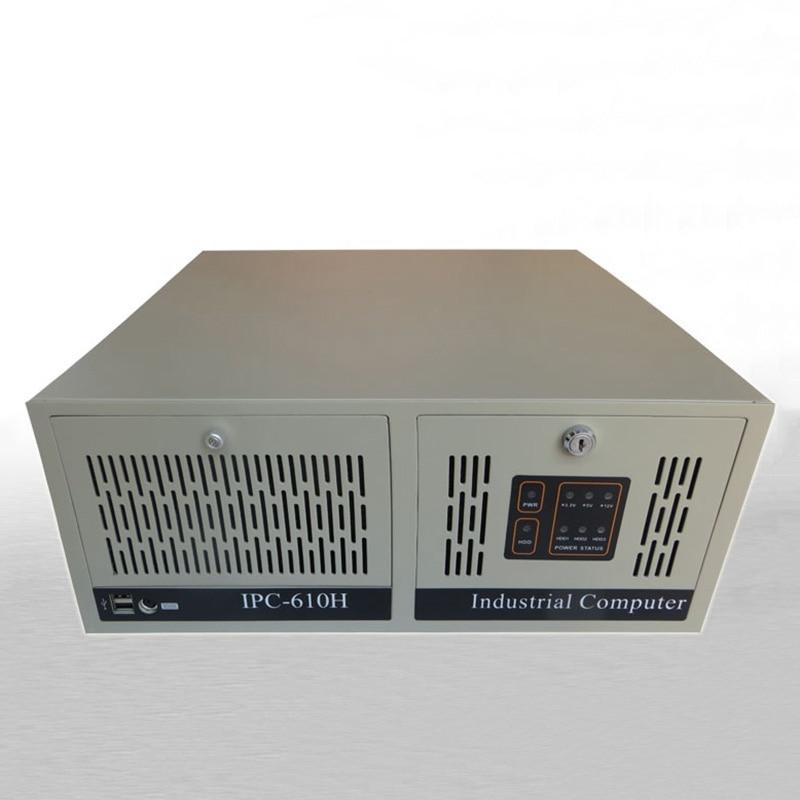 RACK Case IPC610H 4U 14-SLOT Industrial Control Rackmount Chassis Server 7 Slots 14 Rear Window (With Lock) rackmount