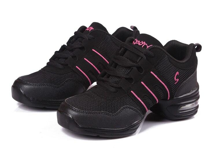 New Soft Outsole Breath Dance Shoes Women Sports Feature Dance Sneakers Jazz Hip Hop Shoes Woman Dancing Shoe Zapatos movefun 61