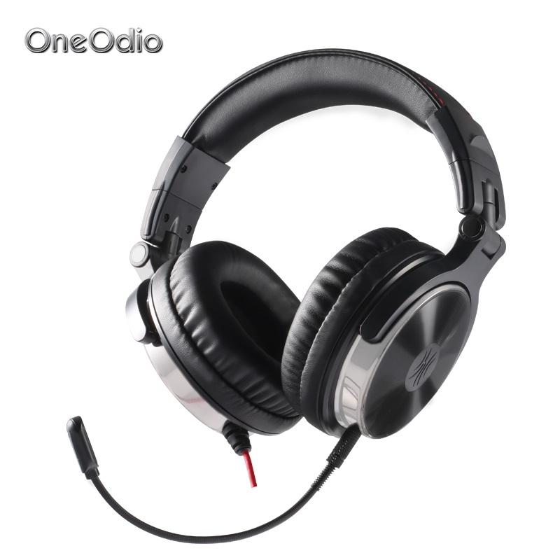 Oneodio Earphone For Phone Gaming Headset with Microphone For Xbox One Gaming Headset PS4 PC Wired Studio DJ Headphone Monitor each g8200 gaming headphone 7 1 surround usb vibration game headset headband earphone with mic led light for fone pc gamer ps4