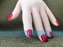 Traje de Cosplay personalizado kigumi piel uñas rojas con guantes Zentai