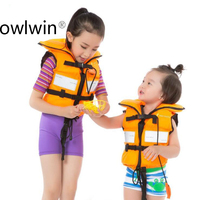 Children's Swimming Lifejacket Whistle Crossing Ride Surfing Snorkeling Life Vest swimwear lifevest