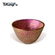 Hot Sale Tikungfu Titanium Three Teacup Set Tableware 50 ml Sake Espresso Cup Alcohol Free Shipping Colors Lightweight Japanese