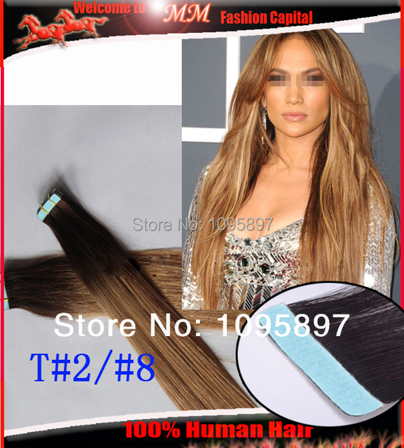 Cheap Ombre Hair Extensions Us Skin Weft Tape In Hair Extensions 40