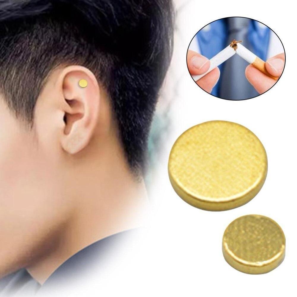 Magnet Quit Smoking Acupressure Patch NO Cigarette Therapy Stop Smoking Anti Smoke Patch Smokeless Smoker Health Care Tool