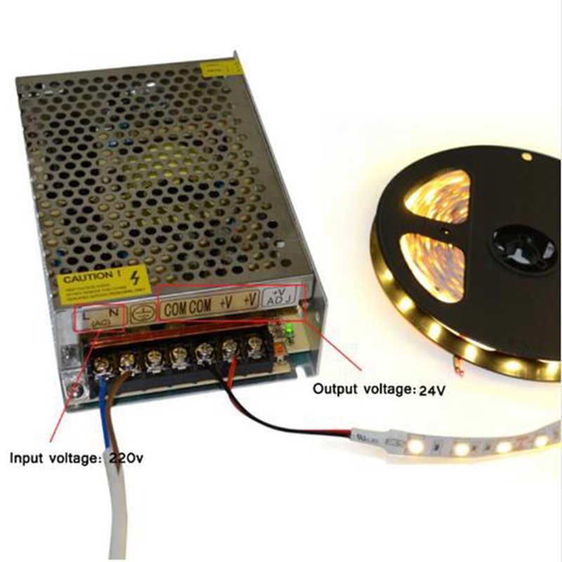 12 зарядное устройство понижающий адаптер световой трансформатор AC 220 В к DC 12 В 1.25A 2A 3A 5A 8.5A 10A 15A 20A источник питания светодиодный драйвер