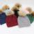 Incrível!!! Natural Big Fur Pom Pom Chapéus de Inverno Para As Mulheres Grossas 100% Gorros 8 Cores Meninas Gorros Cap Camisola de Lã Feminino chapéus