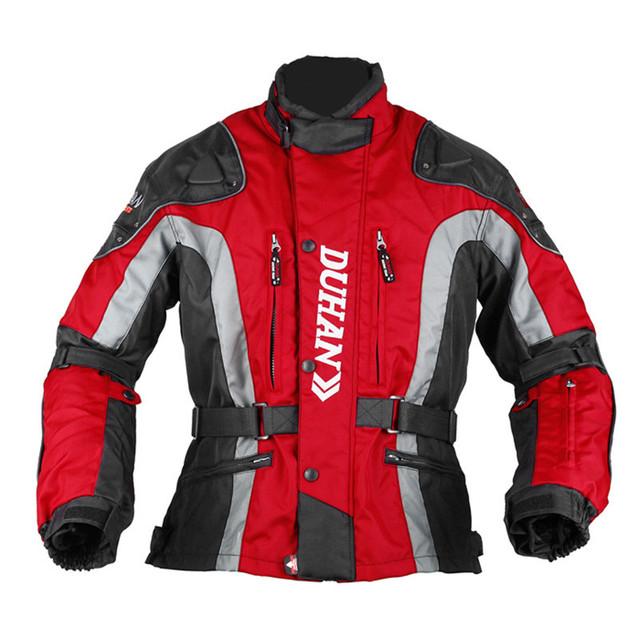 DUHAN Motocross Equipment Gear Cotton Underwear Cold-proof Moto Jacket Men's 600D Oxford Cloth Street Motorcycle Jacket